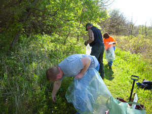 Change the World Weekend - Hiking trail cleanup